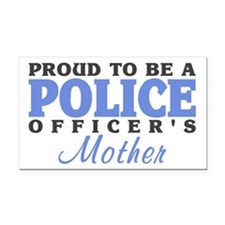 Officer's Mother Rectangle Car Magnet