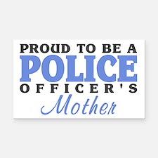 Officer's Mother Rectangle Car Magnet