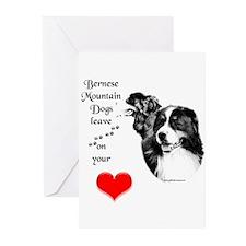 Berner 7 Greeting Cards (Pk of 10)