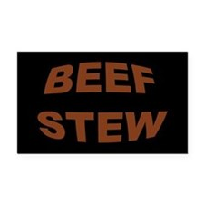 Beef Stew Rectangle Car Magnet
