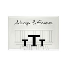 Naley - Always Forever Rectangle Magnet