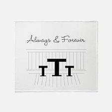 Naley - Always Forever Throw Blanket