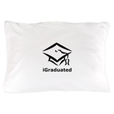 iGraduated Black.png Pillow Case