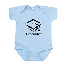 iGraduated Black.png Infant Bodysuit