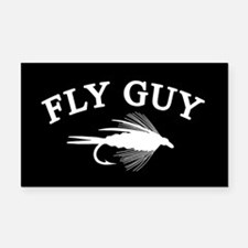 FLY GUY Rectangle Car Magnet