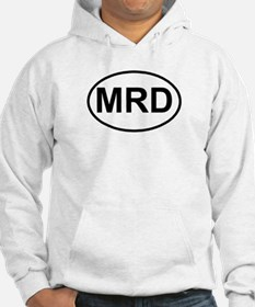 MRD Marching Royal Dukes Oval Hoodie