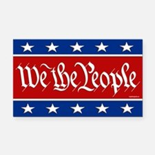 We The People Rectangle Car Magnet