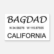 Bagdad, CA Rectangle Car Magnet