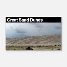 Great Sand Dunes National Par Rectangle Car Magnet