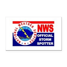 Cute National weather service Rectangle Car Magnet