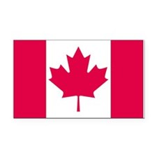 Canada Rectangle Car Magnet