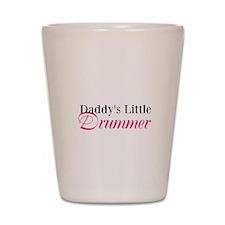 Daddy's Little Drummer Shot Glass