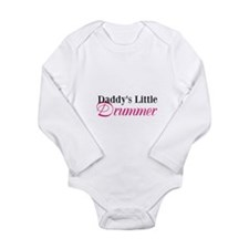 Daddy's Little Drummer Long Sleeve Infant Bodysuit