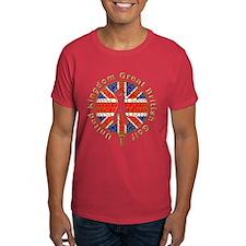 GB union jack golf T-Shirt