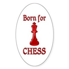 Born for Chess Decal