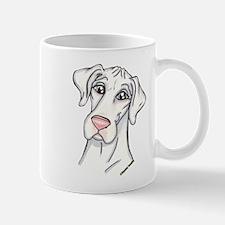 N Pinknose Wht Mug