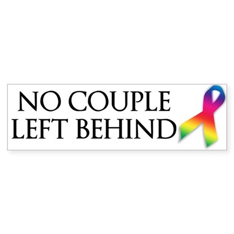 Marriiage Equality Sticker (Bumper)