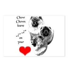 Chow 4 Postcards (Package of 8)