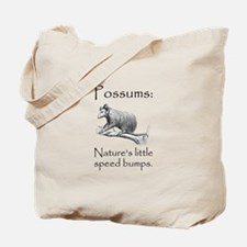 Possum Speed Bump.png Tote Bag