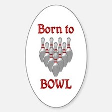 Born to Bowl Decal