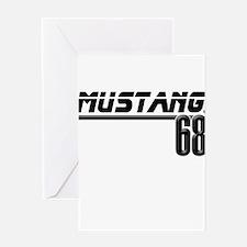 Mustang 68 Greeting Card