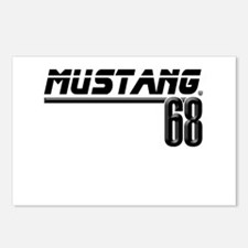 Mustang 68 Postcards (Package of 8)