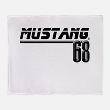 Mustang 68 Throw Blanket