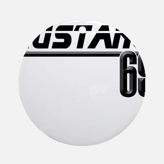 Mustang 69 Ornament (Round)