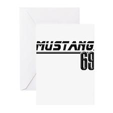 Mustang 69 Greeting Cards (Pk of 20)