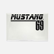 Mustang 69 Rectangle Magnet