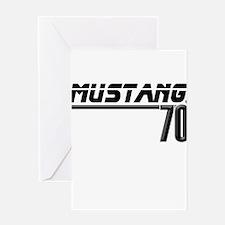 Mustang 70 Greeting Card