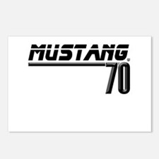 Mustang 70 Postcards (Package of 8)