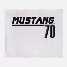 Mustang 70 Throw Blanket