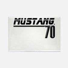 Mustang 70 Rectangle Magnet