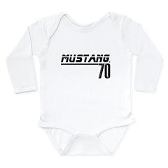 Mustang 70 Long Sleeve Infant Bodysuit