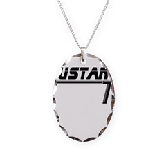 Mustang 70 Necklace Oval Charm