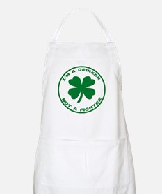 Drinker Not A Fighter BBQ Apron