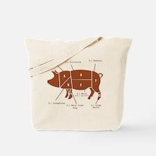 Delicious Pig Parts! Tote Bag