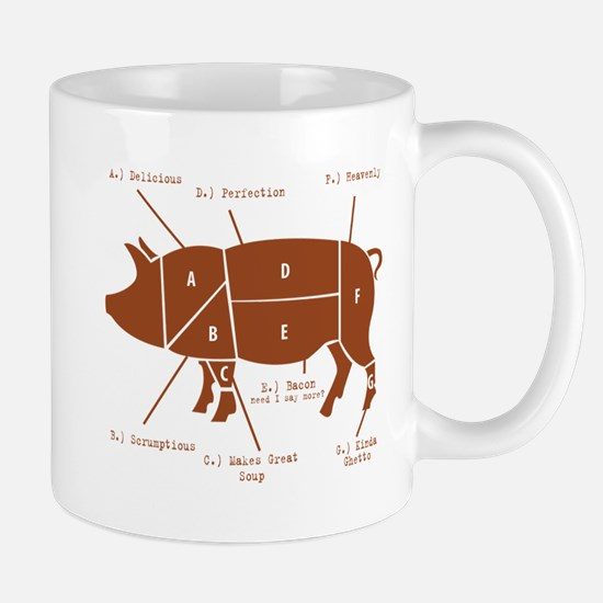 Delicious Pig Parts! Mug