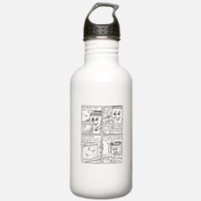 The Old TV 1 Water Bottle