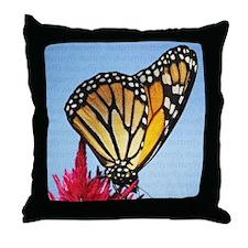 Butterfly Pillow Throw Pillow