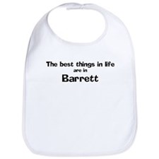Barrett: Best Things Bib
