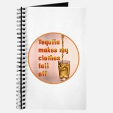 Tequila Makes My Clothes Journal