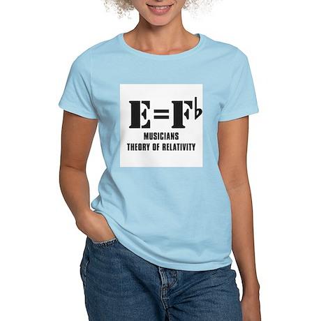 e equals f flat T-Shirt