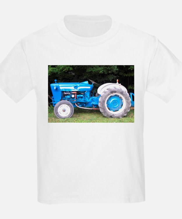 Co Op Tractor Pulling T Shirt : Blue tractor kid s clothing shirts