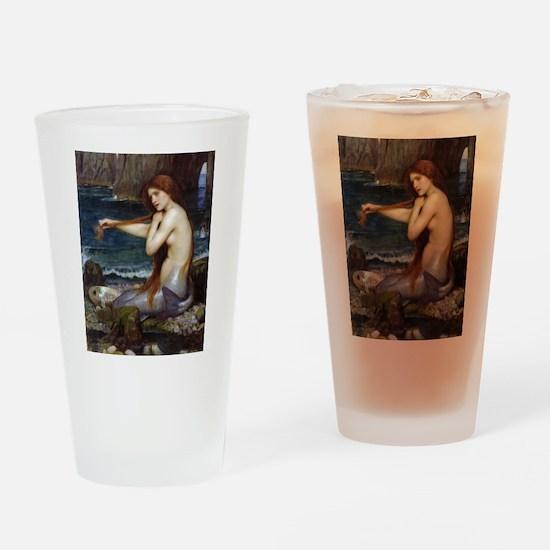 John William Waterhouse Mermaid Drinking Glass