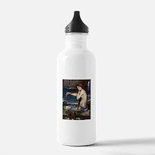 John William Waterhouse Mermaid Water Bottle