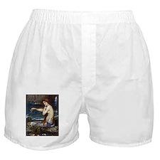 John William Waterhouse Mermaid Boxer Shorts