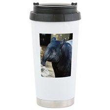Portrait of a Malayan Tapir Travel Mug