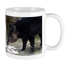 Mountain Tapir with its tongue out Mug